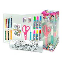 kleurset Suprise Activity Tube papier roze 26-delig