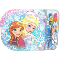 kleurset Frozen XXXL meisjes 53 x 58 cm 27-delig