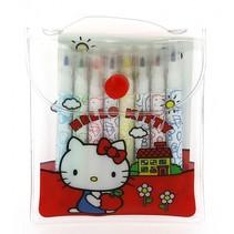 kleurset Hello Kitty rood 7 x 9,5 cm 2-delig