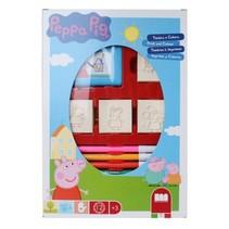 kleurset Peppa Pig 12-delig