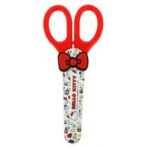 schaar Hello Kitty rood/wit 14 cm