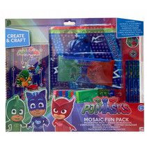 handwerkset Mosaic Fun PJ Masks junior hout 15-delig