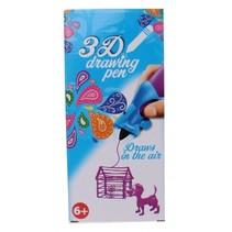 3D-tekenpen paars 14 x 5,5 x 3,5 cm