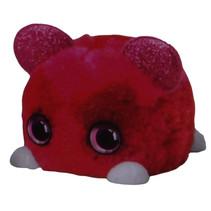 DIY-dier Fuzzy Fun junior 8 x 11 cm pluche rood