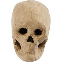 schedel 10 cm papier-maché