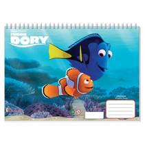 kleurboek Finding Dory junior 33 cm papier lichtblauw