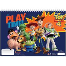 kleur- en stickerboek Toy Story 4 junior 33 cm papier