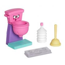chocolademaker Poop junior 11 x 18 cm roze 4-delig