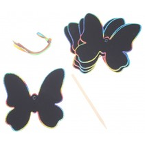 krasmotieven vlinder 10 cm