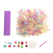 loombands glitter startersset paars 2400-delig
