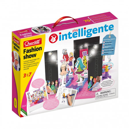 Quercetti ontwerpset Fashion Show junior karton 75-delig