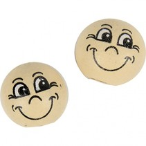 houten bollen 12 mm blank 20 stuks