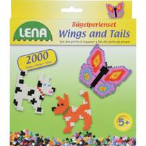 strijkkralenset Wings and Tails junior 2000 stuks