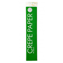 crêpepapier 250 x 50 cm groen