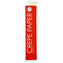 crêpepapier 250 x 50 cm rood