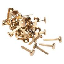 splitspennen 1 cm staal goud 100 stuks