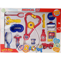 doktorset Let's Go! Medical Kit junior 13-delig