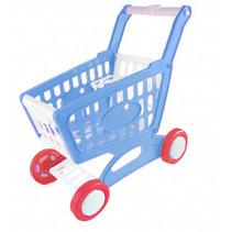 winkelwagentje junior 33 x 16 cm blauw 39-delig
