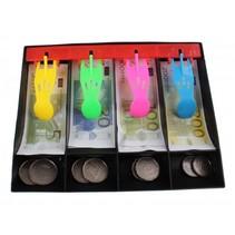 kassalade met speelgeld 17 cm