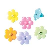 ringen bloemen meisjes 24 stuks