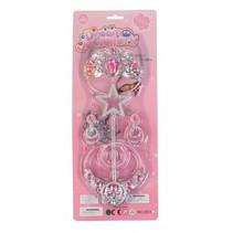 sieradenset prinsessen 5-delig roze