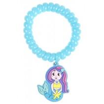 armband zeemeermin blauw