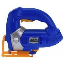 frictie gereedschap decopeerzaag 17 cm blauw