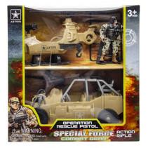 speelset Special Force jongens 24 cm geel 3-delig