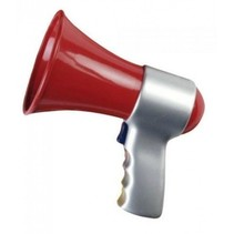 megafoon rood