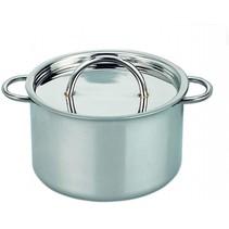 kookpan zilver edelstaal 9 x 11 cm