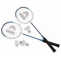 Badmintonset HTF staal blauw per set