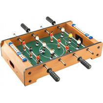 mini-voetbaltafel junior 50 cm naturel/groen