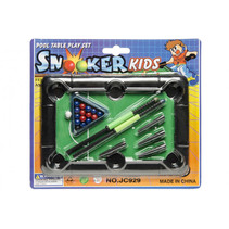 biljartspel snooker xs junior 19 x 21,5 cm zwart