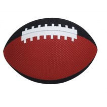 speelgoed rugbybal 18 cm rood