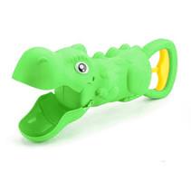 zandschep Crunchy Dinosaur junior 35 cm groen