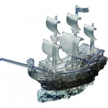 3D-puzzel Piratenschip zwart 101-delig