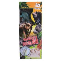 3D-puzzel Fossil Dig jongens gips groen 3-delig J