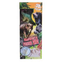 3D-puzzel Fossil Dig jongens gips groen 3-delig C