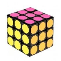 puzzelkubus neon 10 x 10 cm