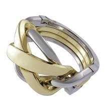 breinbeker Cast Ring zilver/goud