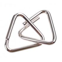 breinbreker puzzel 4 cm zilver staal