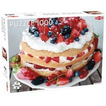 legpuzzel zomerse taart 67 x 48 cm 1000 stukjes