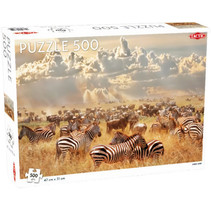 legpuzzel zebra's 47 x 31 cm karton 500 stukjes