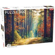 legpuzzel herfst bos 47 x 31 cm 500 stukjes