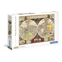 legpuzzel Antieke nautische kaart 6000 stukjes