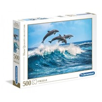 legpuzzel Dolphins karton 500 stukjes