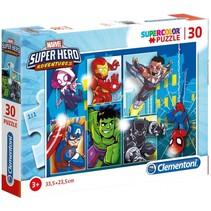 legpuzzel Marvel Super Heroes 30 stukjes
