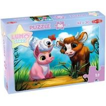 legpuzzel Lumo Stars karton junior 56 stukjes