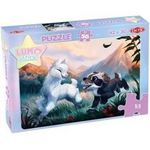 legpuzzel Lumo Stars junior karton 56 stukjes