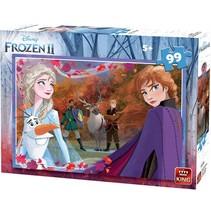 legpuzzel Disney Frozen II karton 99 stukjes